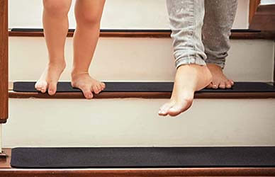 Delxo Safety Slip Resistant Stair Carpet