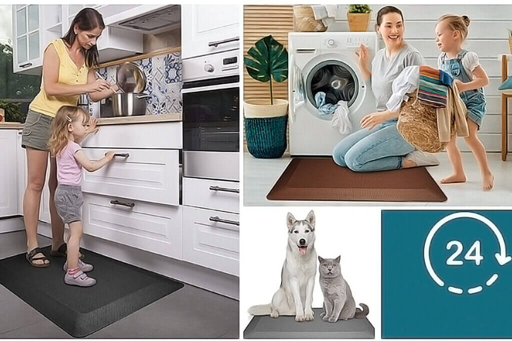 Featol Anti-Fatigue Cushioned Kitchen Mat