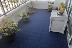Happybuy Grey Marine Carpet with Waterproof Back