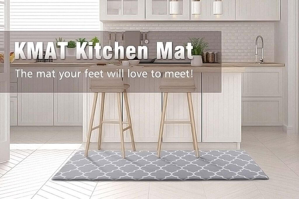 KMAT Waterproof Non-Slip Kitchen Mat