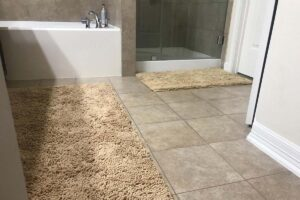 MAYSHINE Luxury Chenille Bath Mat for Bathroom