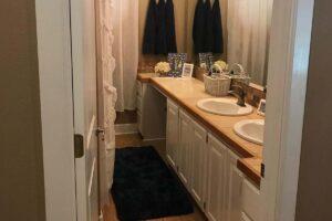 Walensee Non-Slip Bath Mat for Bathroom